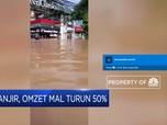 Dampak Banjir, Omzet Mal Turun 50%