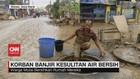 VIDEO: Korban Banjir di Bekasi Kesulitan Air Bersih