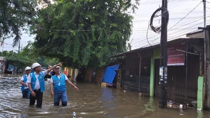 Tergenang Banjir, PLN Lakukan Inspeksi Sejumlah Gardu