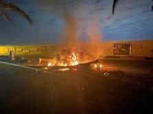 Awas Perang! Ada Ledakan Dekat Bandara Baghdad Irak