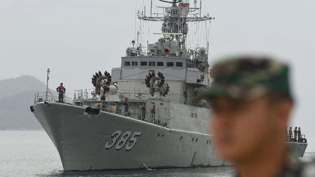 Jenis Kapal Perang RI yang Hadir di Laut Natuna Hadapi China
