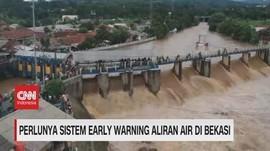 VIDEO - BNPB: Perlu Sistem Early Warning Aliran Air di Bekasi