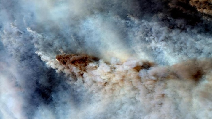 Intip Dahsyatnya Kebakaran Hutan Australia dari Luar Angkasa
