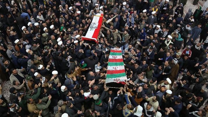 Tewas di Tangan AS, Ini Kepedihan Iran & Irak Lepas Soleimani