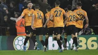 Jelang Lawan Liverpool, Wolves Jadi Tim Paling Sering Bangkit