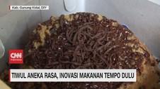 VIDEO: Tiwul Aneka Rasa, Inovasi Makanan Tempo Dulu