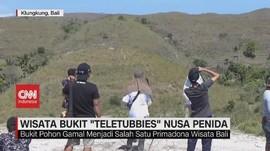 VIDEO: Wisata Bukit 'Teletubbies' Nusa Penida