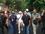 Kala Erick Thohir Tinjau Posko Banjir Jakarta-Banten
