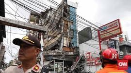 Terkait Gedung Roboh di Slipi, Polisi Panggil Anak Buah Anies