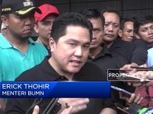 Erick Bicara Soal Fitnah Jokowi Terlibat Skandal Jiwasraya