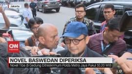 VIDEO: Novel Baswedan Jalani Pemeriksaan di Polda Metro Jaya