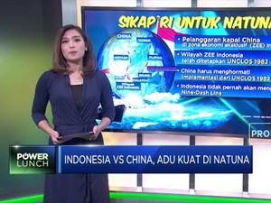 Adu Kuat China VS Indonesia di Natuna