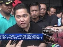 Erick Thohir Bantah Tuduhan Miring Soal Suap Rp 100 M
