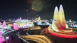 FOTO: Megahnya Festival Es di China