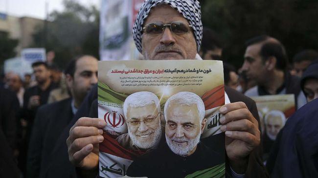 Iran Masukkan AS ke Dalam Daftar Teroris usai Bunuh Soleimani