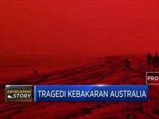 Wahh...Kebakaran Buat Langit Australia Memerah