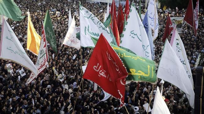 Sosok Soleimani merupakan salah satu arsitek yang mampu memperkuat pengaruh Iran di Timur Tengah.(HOSSEIN MERSADI / fars news / AFP)