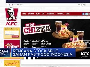 Fastfood Indonesia Berencana Stock Split Saham