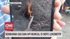VIDEO: Semburan Api dan Gas Resahkan Warga