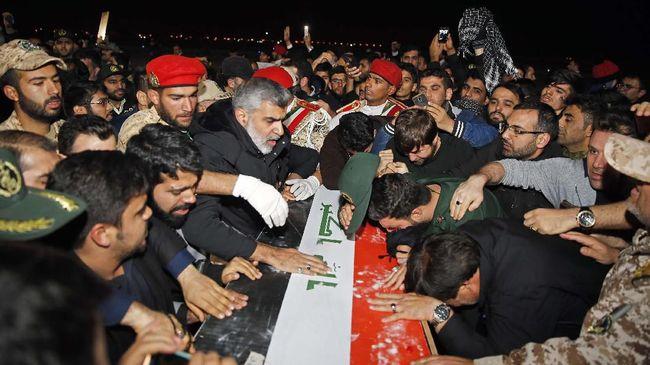 Pemakaman Soleimani Makan Korban hingga Kasus Reynhard Sinaga