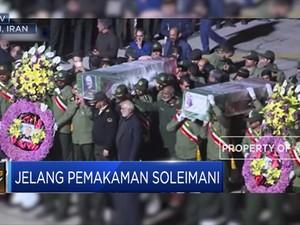Jenazah Soleimani Dipulangkan ke Kampung Halamannya
