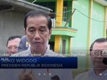 Kunjungi Banjir Lebak, Jokowi: Jembatan Segera Diperbaiki