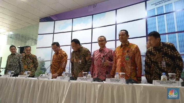 Rencananya konferensi pers akan digelar mulai pukul 12.00 WIB di kantor pusat BPK di Jakarta Pusat.