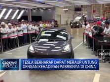 Tesla Buatan China Resmi Meluncur