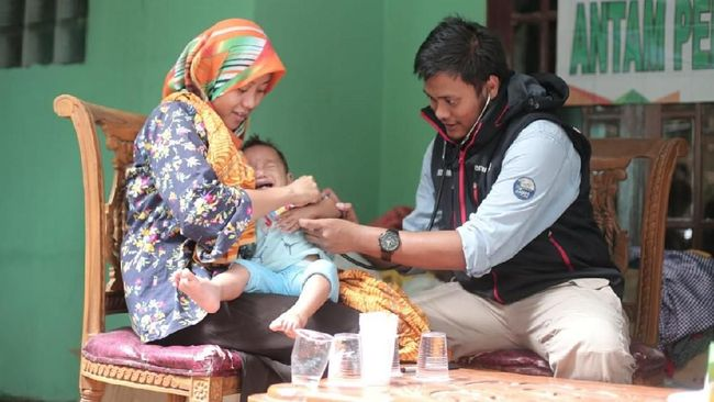 Antam dan MIND ID Tangani Dampak Bencana di Nanggung-Sukajaya