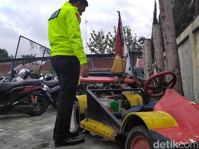 Formula 1 KW Ditilang Polisi Garut