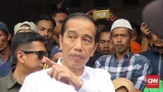 Jokowi soal Sebut Sandiaga Capres: Saya Diberi Umpan