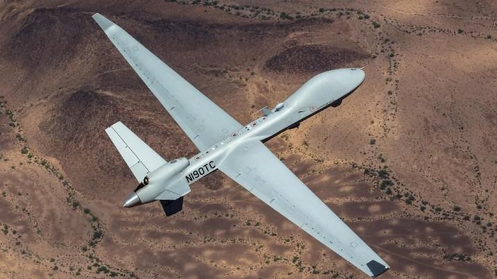 Drone MQ-9B SkyGuardian (Dok. General Atomics Aeronautical Systems)