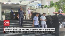 VIDEO: Warga Simelue Rasakan Gempa M 6,4 Sinabang