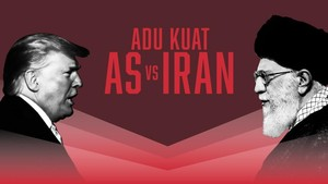 INFOGRAFIS: Adu Kuat AS Vs Iran