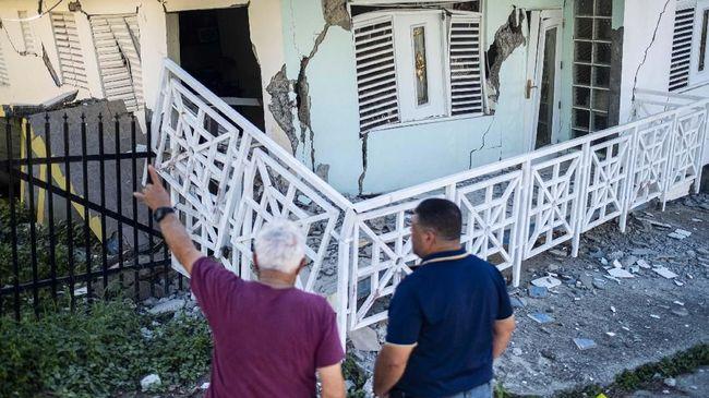 Puerto Rico Diguncang Tiga Gempa Susulan Hingga Selasa Petang