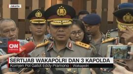 VIDEO: Gatot Eddy Pramono Resmi Jabat Wakapolri