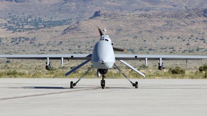 Membandingkan roket Katyusha dan drone MQ-9 reaper.