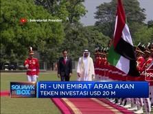 Kado Jokowi dari Abu Dhabi: Investasi Rp 314,9 T