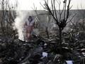 Beredar Video Pesawat Ukraina Diduga Ditembak Rudal di Iran