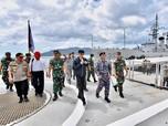 Gaya Jokowi Tegaskan Kedaulatan NKRI di Natuna
