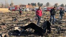 Ukraina Minta Iran Serahkan Kotak Hitam Pesawat yang Jatuh