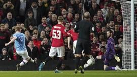 Derita De Gea: Dikelabui Mahrez dan Kebobolan Gol Bunuh Diri