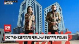 VIDEO: KPK Tagih Kepastian Peralihan Pegawai Jadi ASN