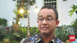 Anies Irit Bicara Soal Pembebasan Lahan Bidara Cina