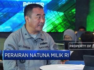 Natuna, Wilayah Pegawasan Utama Bakamla di Perairan RI