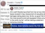 Rudal Iran Serang AS, Trump: All Is Well