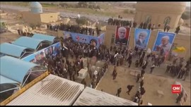VIDEO: Jenazah Pimpinan Milisi Syiah Irak Dimakamkan