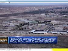 Ngeri! Rudal Iran Hantam Basis Militer Irak & Koalisi AS