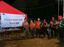 Tanggap Bencana Banjir bank bjb Dirikan Posko Bantuan Bencana