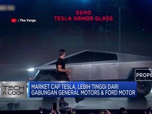 Tesla Kalahkan Total Market Cap GM & Ford Motor